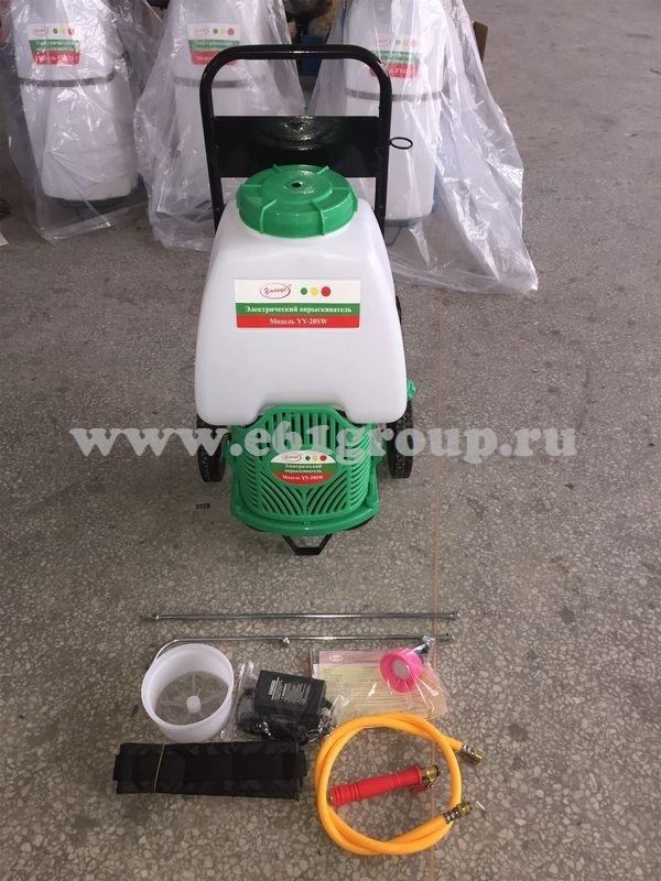Опрыскиватель электрический на колесах Комфорт (Умница) YY-20SW с регулятором мощности цена