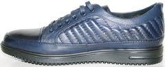 Синие мужские туфли Bellini 12405 Blue