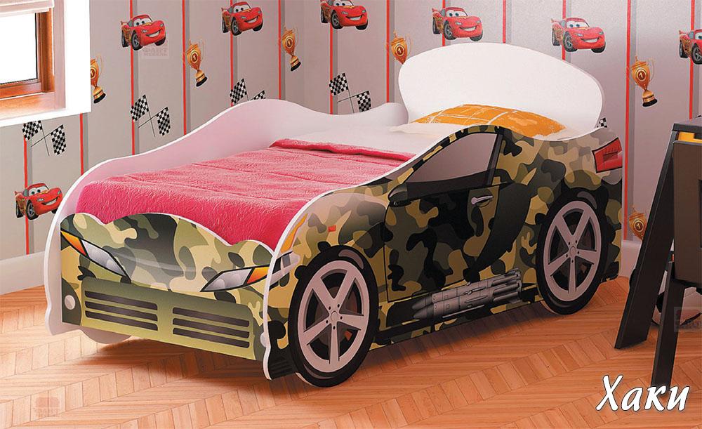 Кровать-машина для мальчика Омега-12 ЛДСП №1