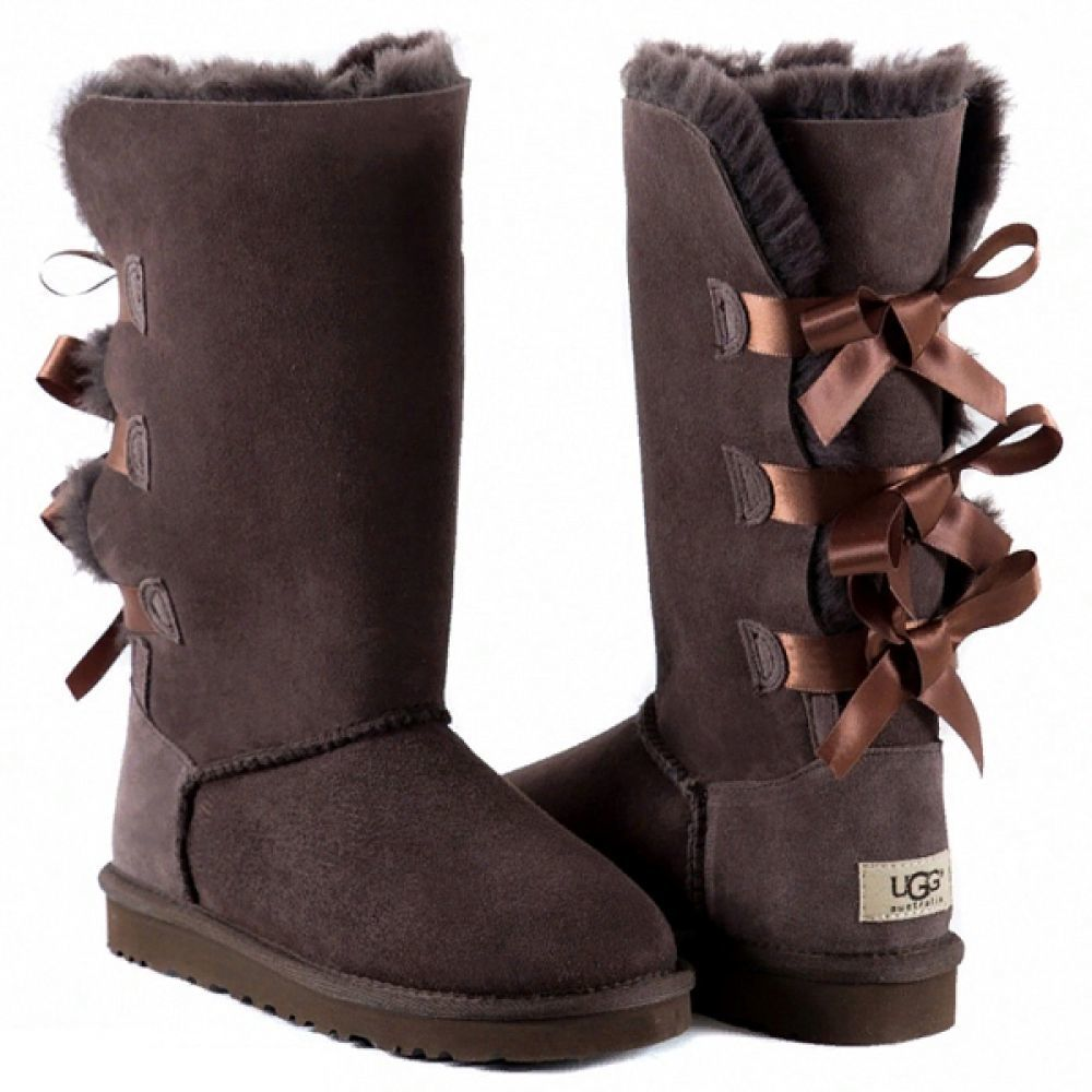 УГГИ BAILEY BOW TALL CHOCOLATE 7150W