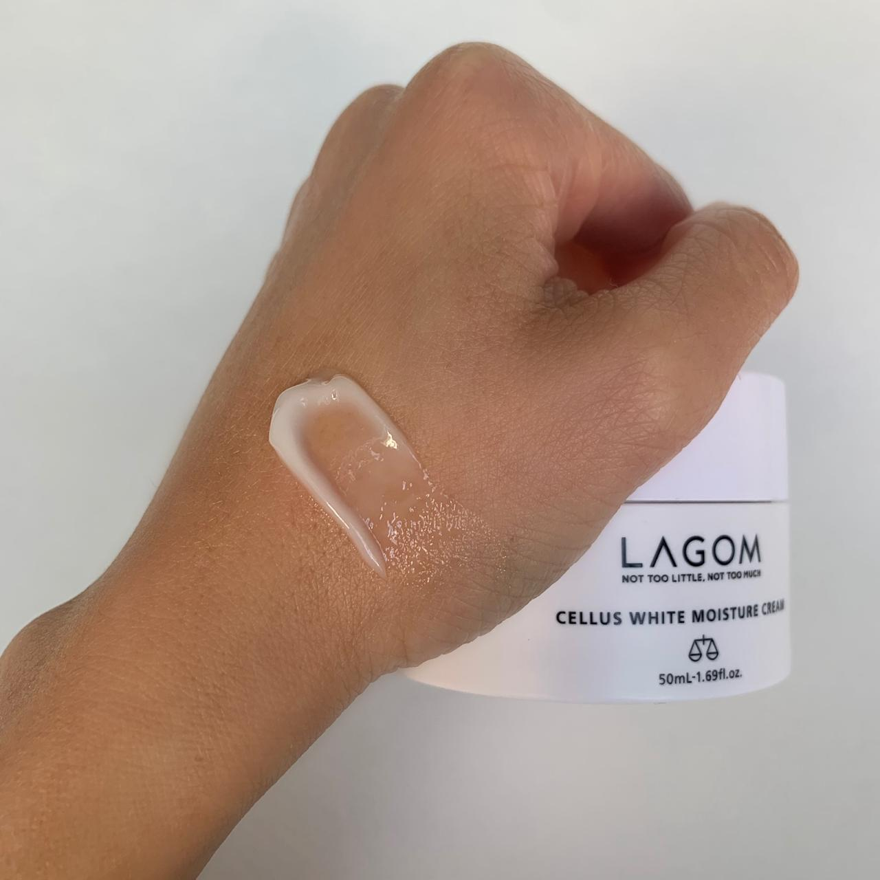 Крем отбеливающий для лица LAGOM Cellus White Moisture Cream 50 мл