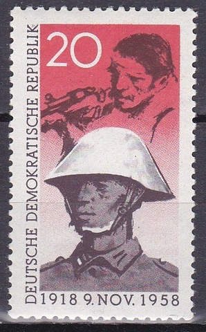 ГДР 1958 №662 **MNH