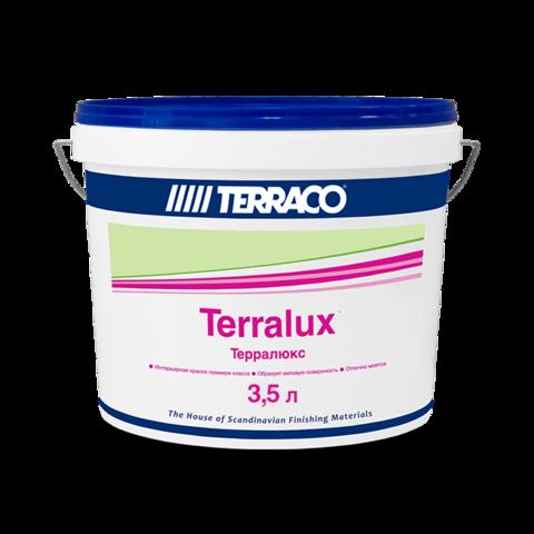 Terraco Terralux/Террако Терралюкс универсальная акриловая краска с повышенной износоустойчивостью