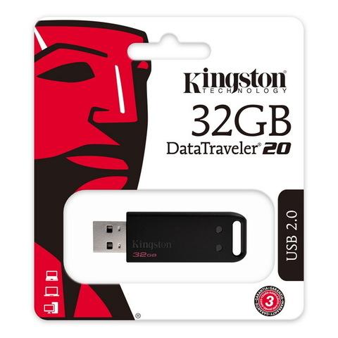 Накопитель Kingston DataTraveler 20 32GB USB 2.0 (DT20/32GB)