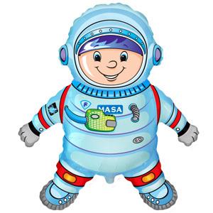 Фольгированный шар Астронавт 100 X 80см