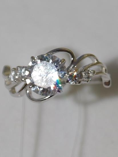 Кольцо 10477(кольцо из серебра).