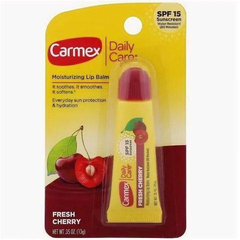 Carmex Классический бальзам для губ вишня SPF (10 г) США