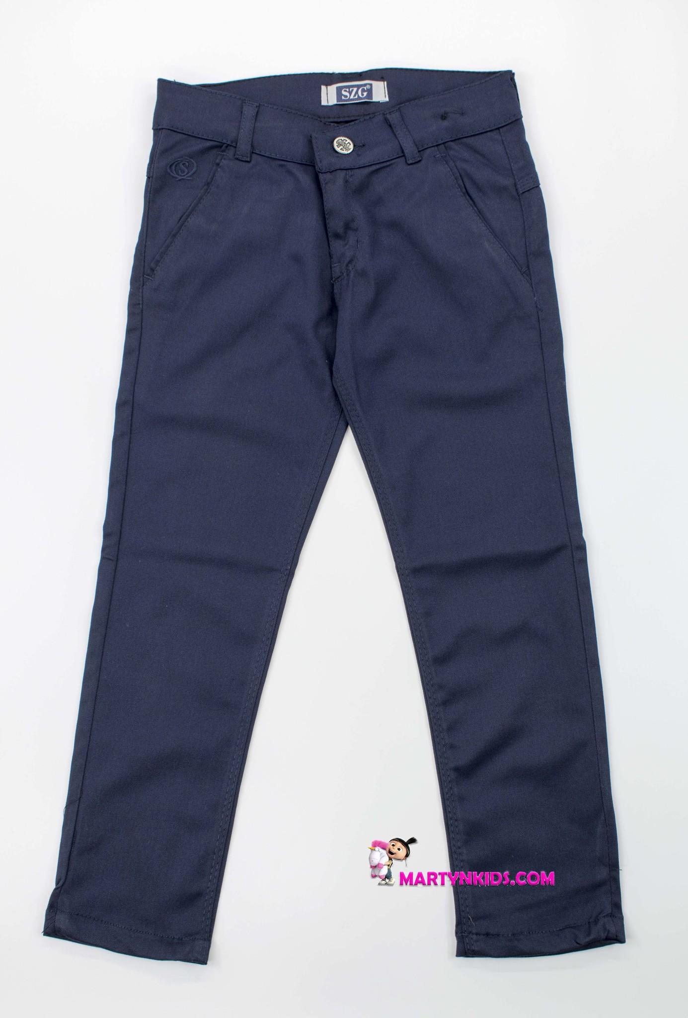 2709 джинсы-брюки школа подросток SZG