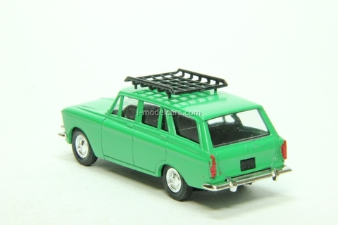 Moskvich-427 with roof rack green Agat Mossar Tantal 1:43