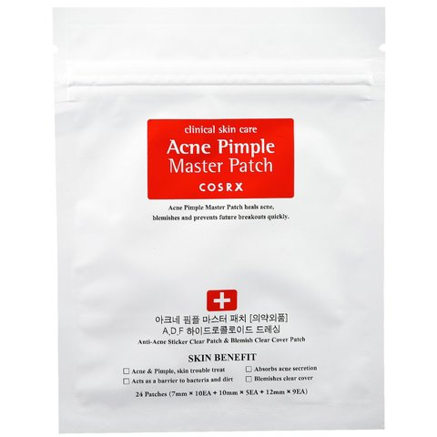 COSRX Патчи от акне противовоспалительные Acne Pimple Master Patch