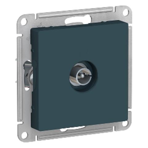 Антенна TV коннектор. Цвет Изумруд. Schneider Electric AtlasDesign. ATN000893