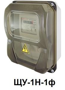 Щит учета ЩУ-1Н-1ф 226х197х90 мм пластиковый IP55 TDM