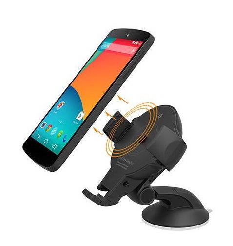 Архив Держатель в автомобиль для смартфона с беспроводной зарядкой qi - EWC-3000 Easy_Flex_Wireless_2.jpg
