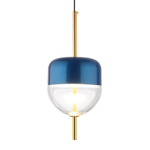 Подвесной светильник копия Flow S4 by Nao Tamura (Wonderglass) (синий/прозрачный)