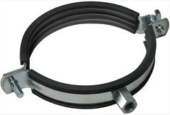 Хомут для воздуховода с резиновым профилем D 110 мм