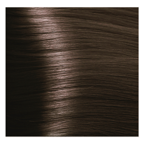 Крем краска для волос с гиалуроновой кислотой Kapous, 100 мл - HY 5.3 Светлый коричневый золотистый