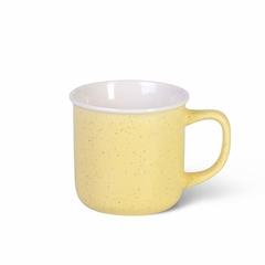 6069 FISSMAN Кружка 360мл, цвет Желтый (керамика)