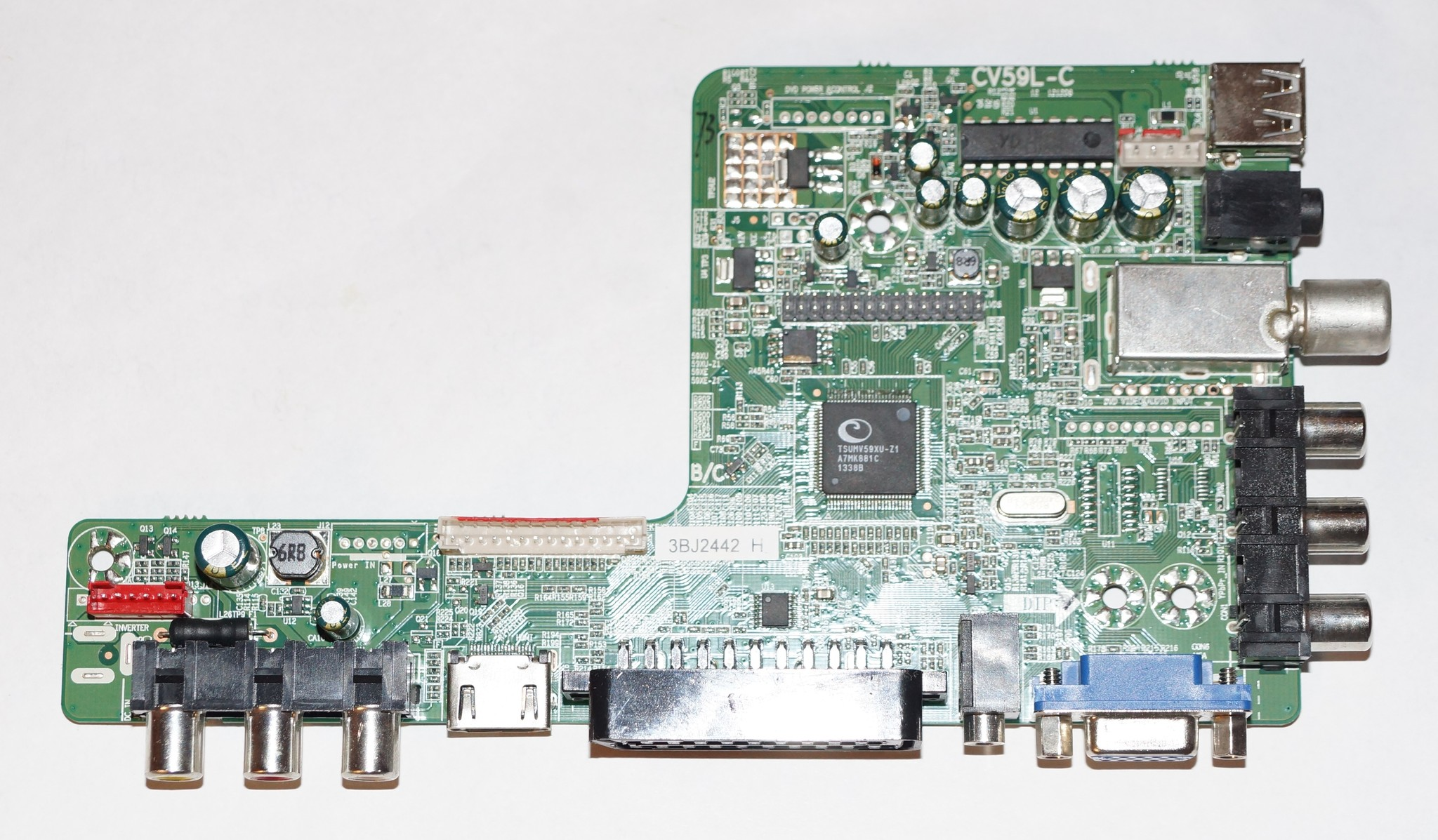 CV59L-C mainboard телевизора DNS