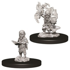 Pathfinder Battles Deep Cuts - Male Gnome Sorcerer