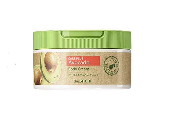 Крем для тела с экстрактом авокадо The Saem Care Plus Avocado Body Cream (300ml)