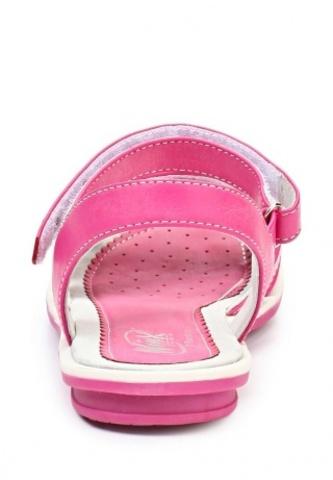Босоножки Винкс (Winx) на липучках с открытым носком и пяткой для девочек, цвет розовый. Изображение 3 из 8.