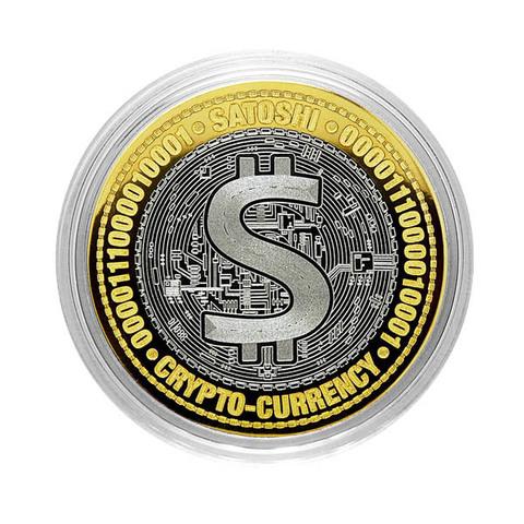 Сатоши. Гравированная монета 10 рублей