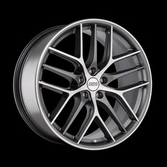 Диск колесный BBS CC-R 9.5x20 5x120 ET40 CB82.0 graphite/diamond cut