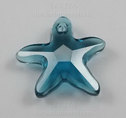 6721 Подвеска Сваровски Морская Звезда Indicolite (16 мм) ()