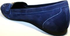 Женские туфли на низком ходу