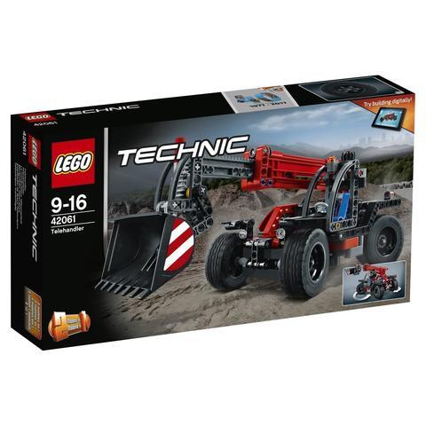 LEGO Technic: Телескопический погрузчик 42061 — Telehandler — Лего Техник