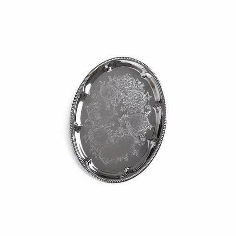 9422 FISSMAN Поднос 40х29 см, металл хромированный,  купить