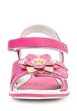 Босоножки Винкс (Winx) на липучках с открытым носком и пяткой для девочек, цвет розовый. Изображение 5 из 8.