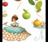 Наклейки Чаепитие у принцессы Djeco