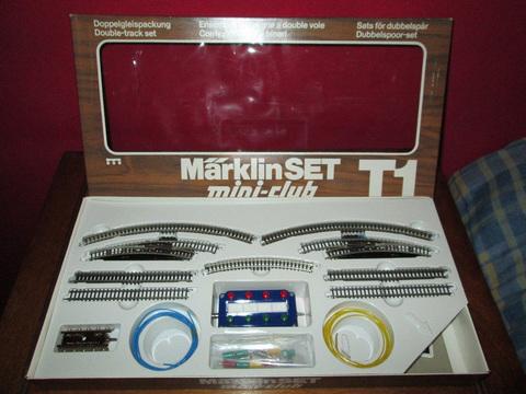 Рельсовый набор Т1 MARKLIN 8192