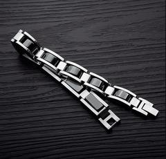 Гематитовый браслет