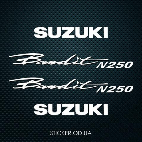 Набор наклеек на мотоцикл Suzuki Bandit GSF 250N