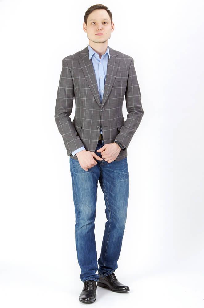 Пиджаки Slim fit CESARI MARIANO / Пиджак Slim Fit IMGP9398.jpg