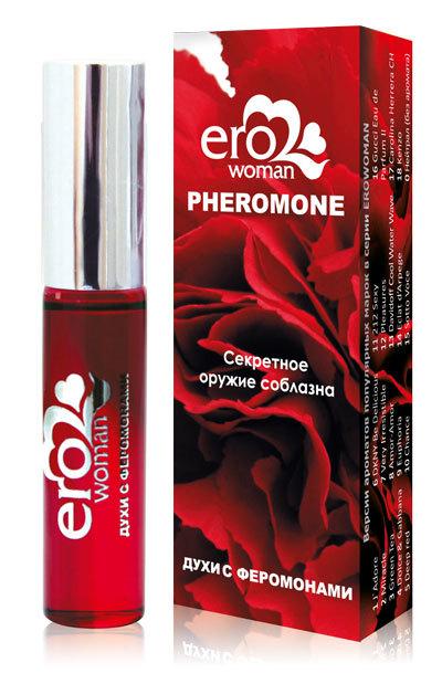 Женские духи с феромонами Erowoman №8 - 10 мл.