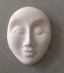 Фарфоровая заготовка малой маски