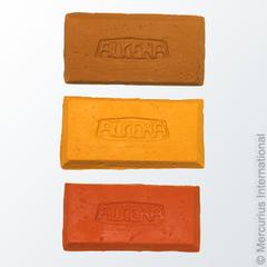 Пластилин натуральный для лепки - коричневый/200 гр (Alkena)