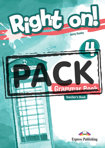 Right On! 4 Grammar Book Teacher's (with Digibooks App) Сборник грамматических упражнений для учителя (с  ссылкой на электронное приложение)