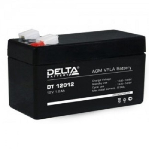 DT 12012 аккумулятор 12В/1,2Ач Delta