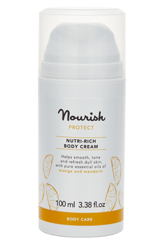 Питательный крем для тела для сухой кожи, Nourish