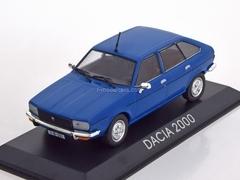 Dacia 2000 blue 1:43 DeAgostini Masini de legenda #63
