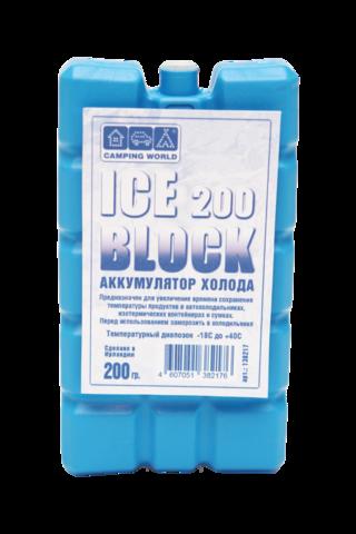 Аккумулятор холода Camping World Iceblock (200 гр.)
