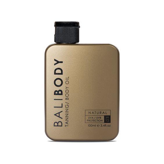 Масло для загара BaliBody Tanning Body Oil SPF 15 100 мл