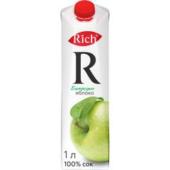 Сок Rich яблоко 1л