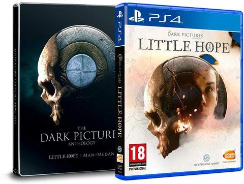 PS4 The Dark Pictures: Little Hope. Steelbook Edition Bundle (русская версия)