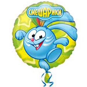 Фольгированный шар Смешарики Крош 18