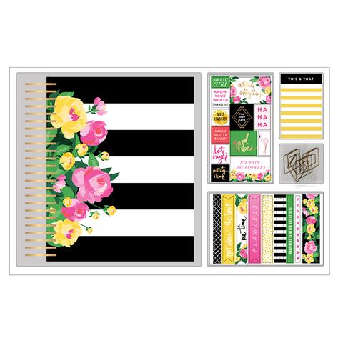 Набор Ежедневника с наполнением и комплект украшений  Heidi Swapp FRESH START CLASSIC BOXED KIT